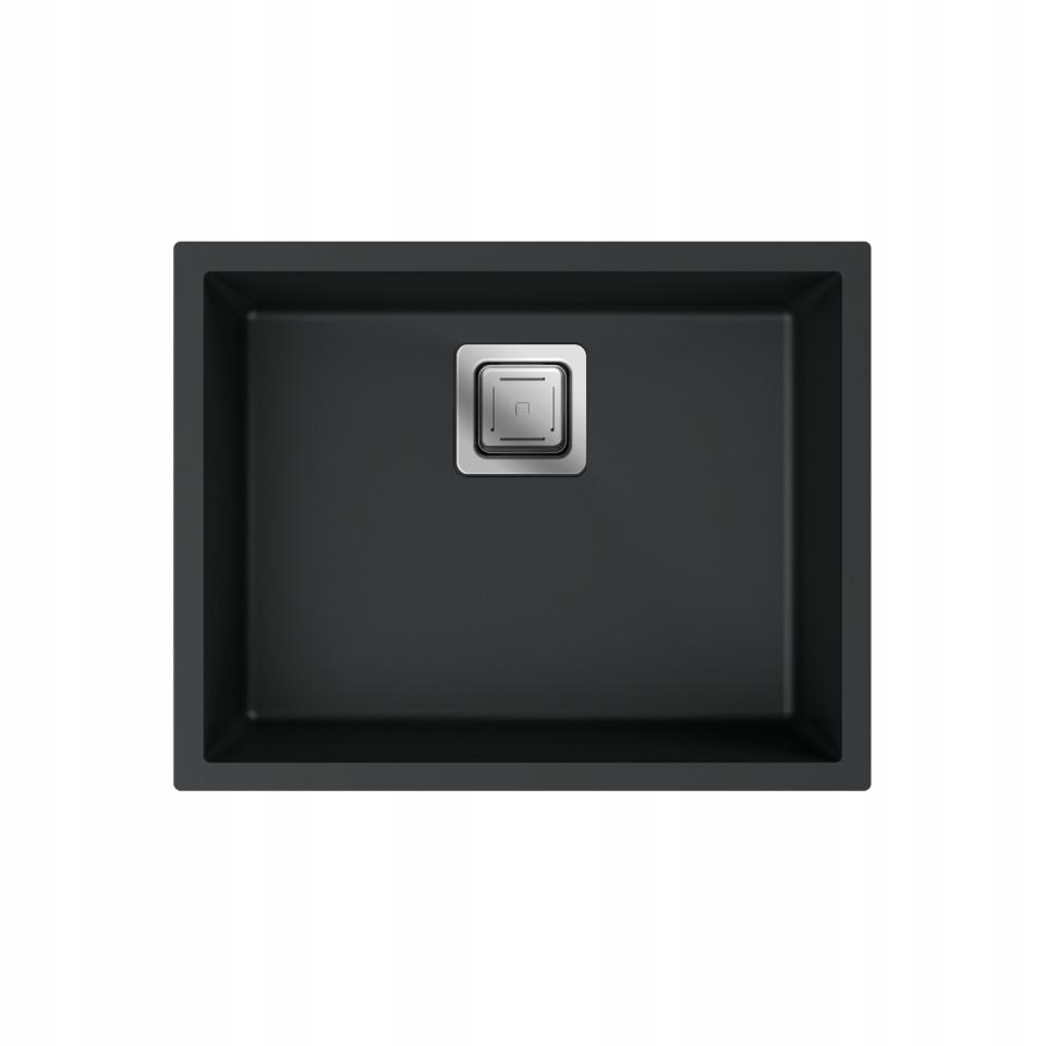 Zlewozmywak Granitowy Podwieszany +Syfon_6 Kolorów