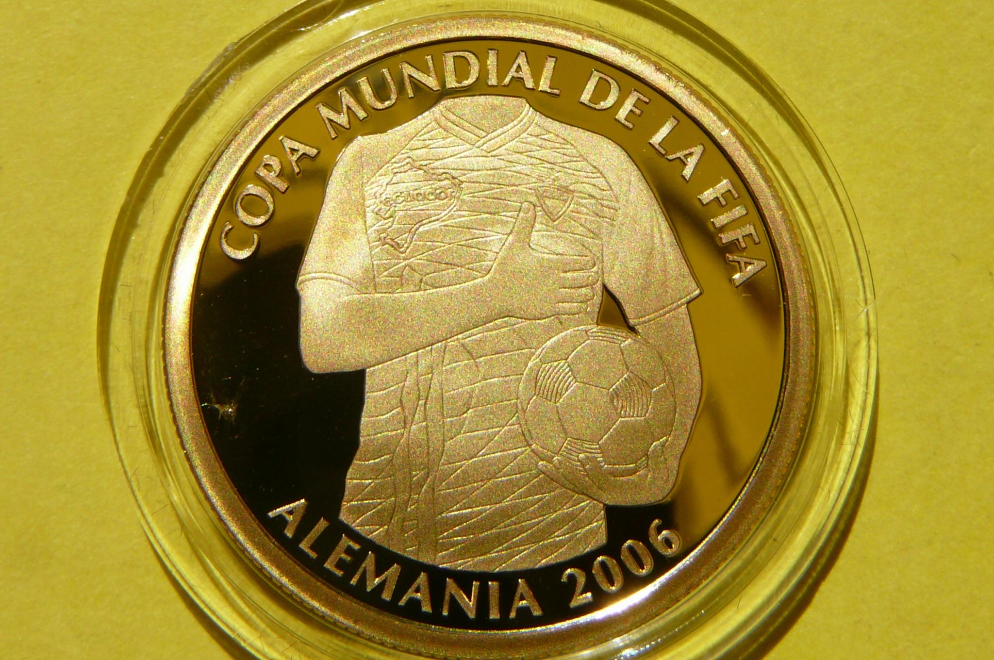 Sucre Ekwador 2006 Fifa World Cup Au 999 6 8g Cer 9367479429 Allegro Pl