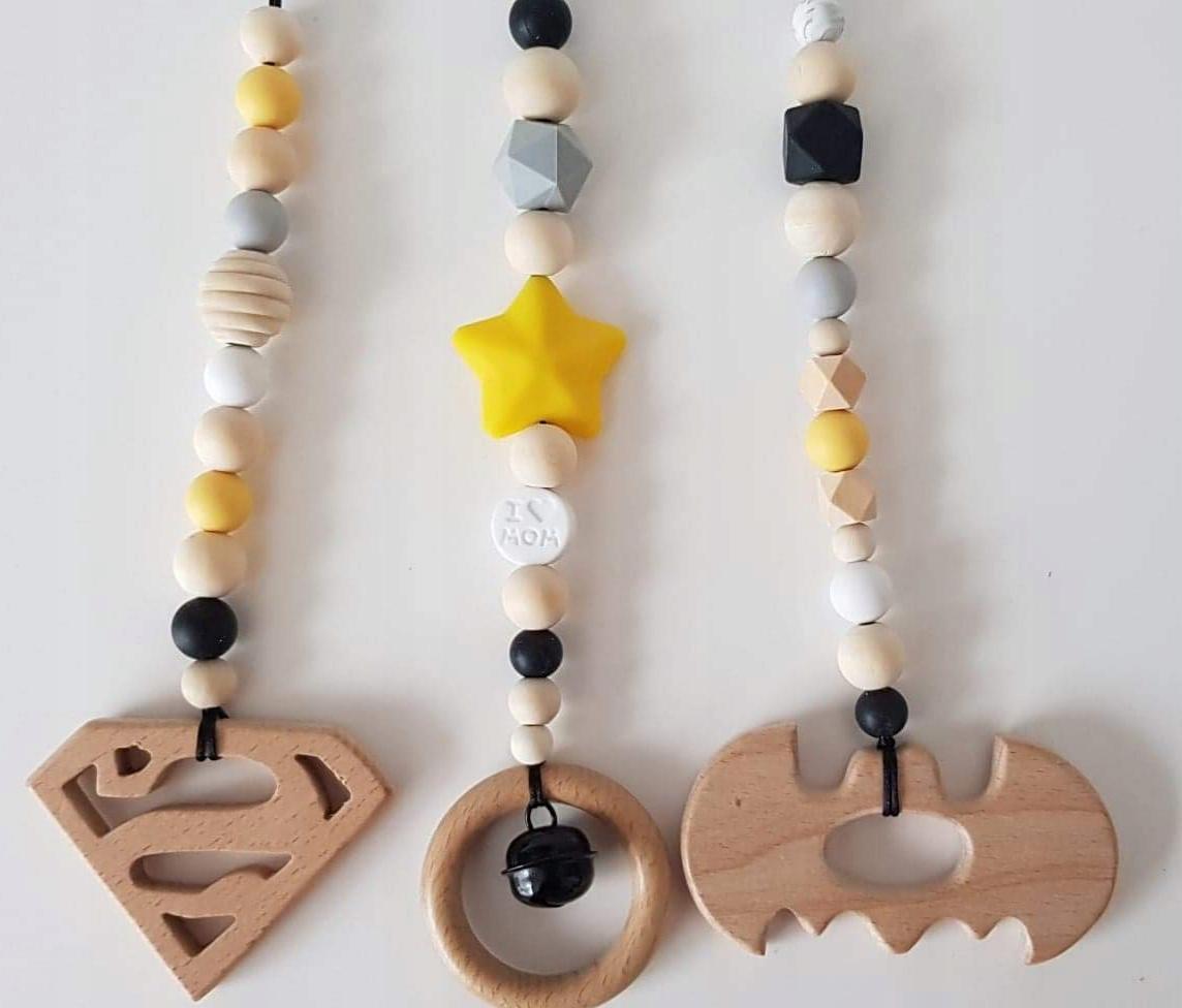 Detské prívesky do posilňovne Batman Hero gymnastický stojan