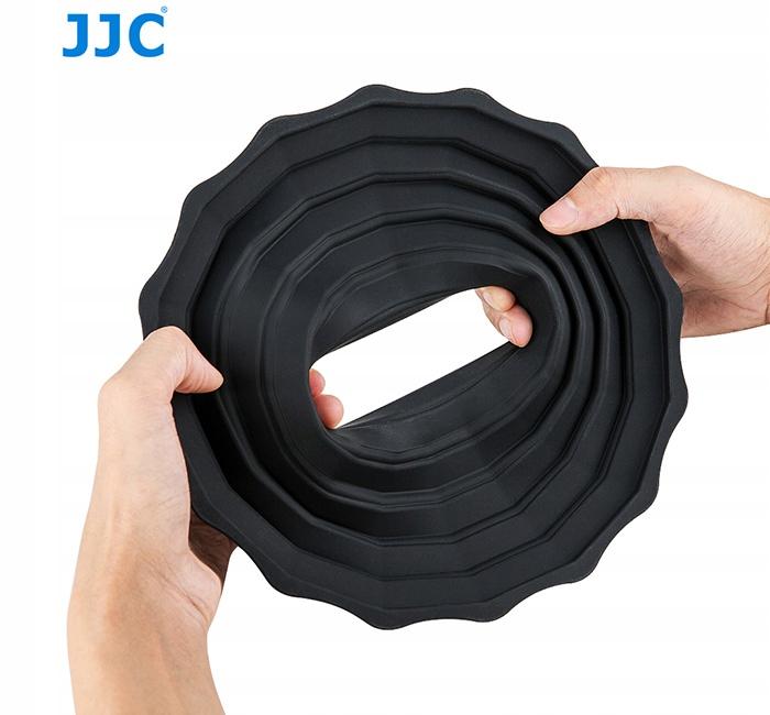 Osłona silikonowa JJC do obiektywów 73-88 mm Waga produktu z opakowaniem jednostkowym 0.3 kg