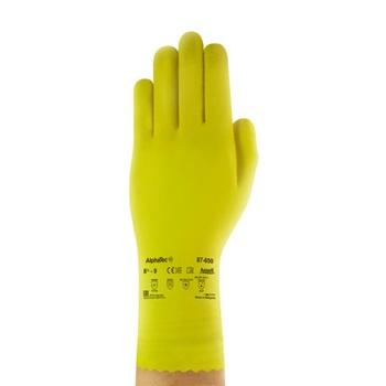 ANSELL перчатки 87-650 латекса экономические 7,5-8