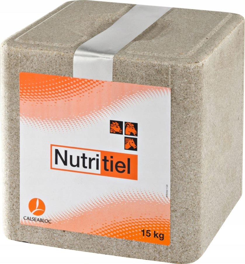 Lizawka Mineralna NUTRITIEL dla zwierząt 15 kg