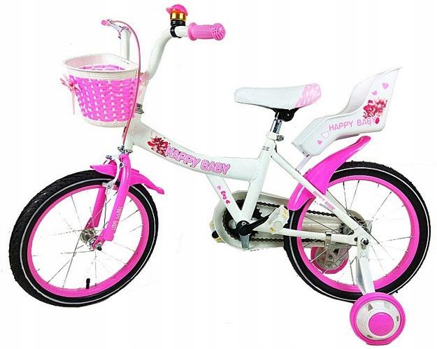 Rower ROWEREK dziecięcy Happy Baby 16 cali #4