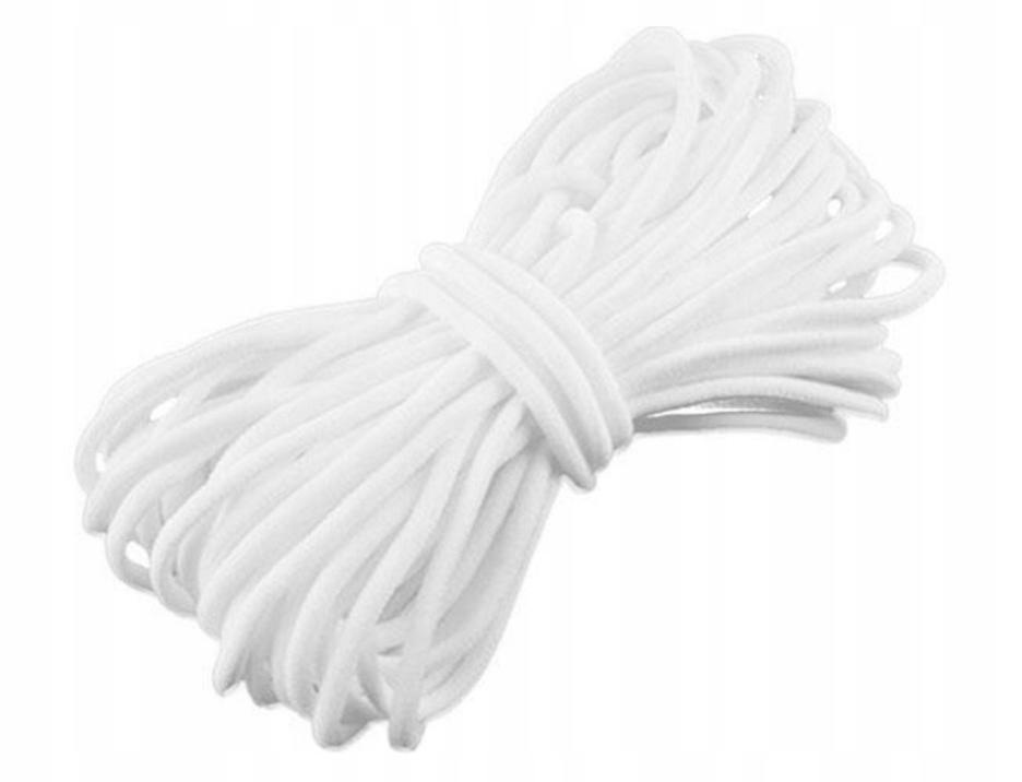 Item Rubber elastic knitted round for masks masks 10mb