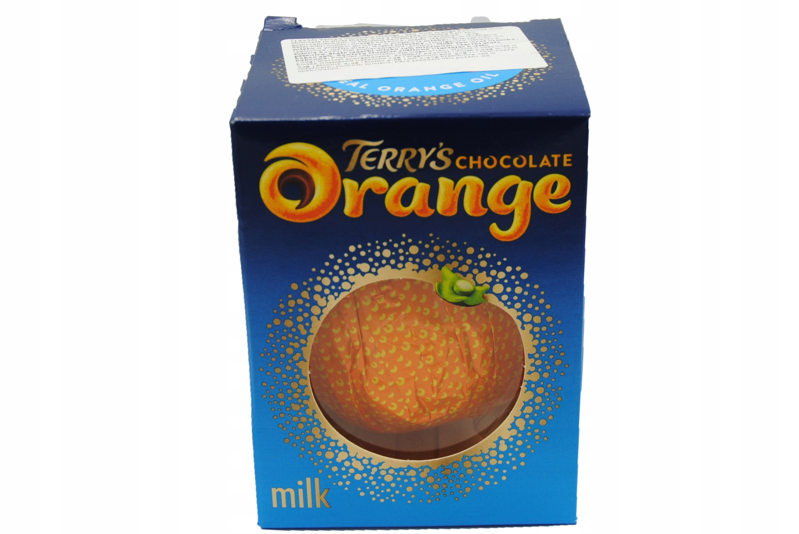 4x шоколад Terry's Orange Kula Chocolates 157 г