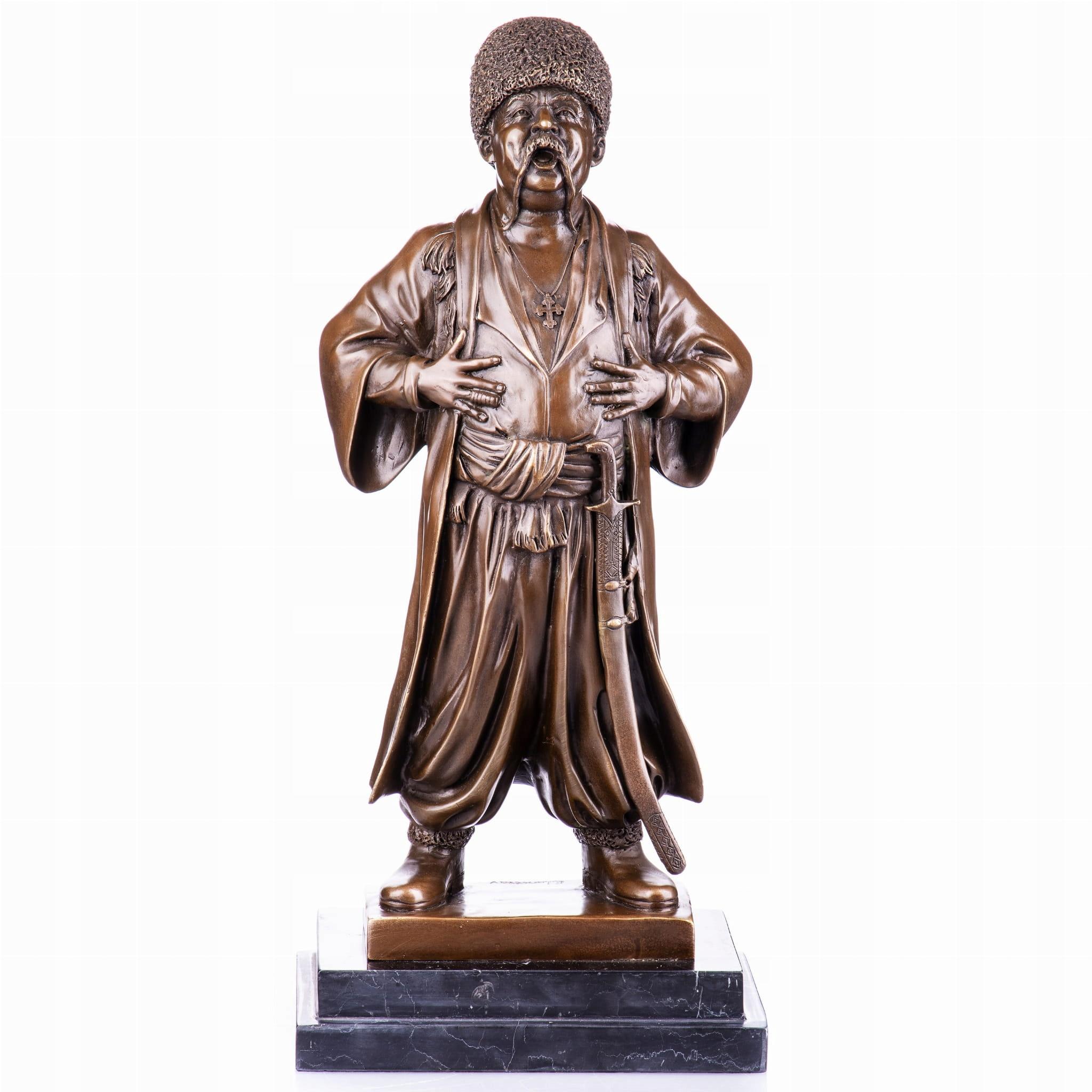 Bronzová postava Bohdana Chmielnického, Retro