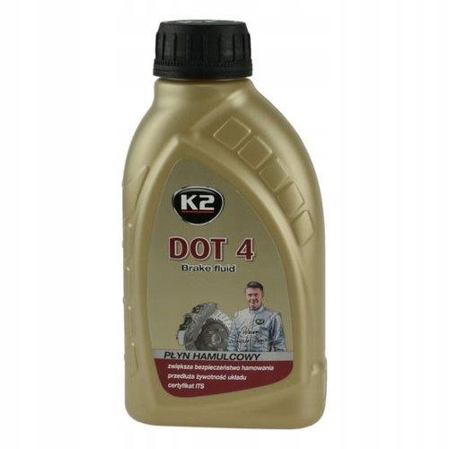 K2 DOT 4 тормозная жидкость DOT4 500г