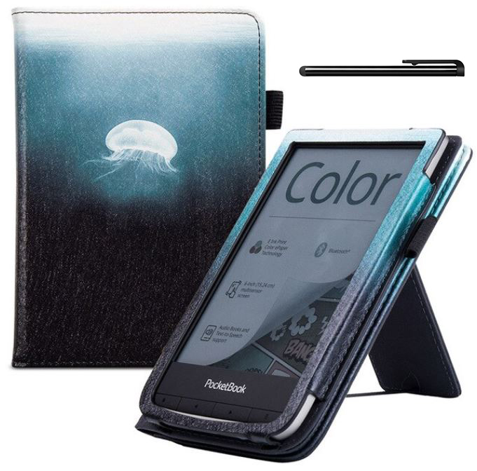 ETUI do PocketBook Touch LUX 4 5 HD 3 Color PB 633