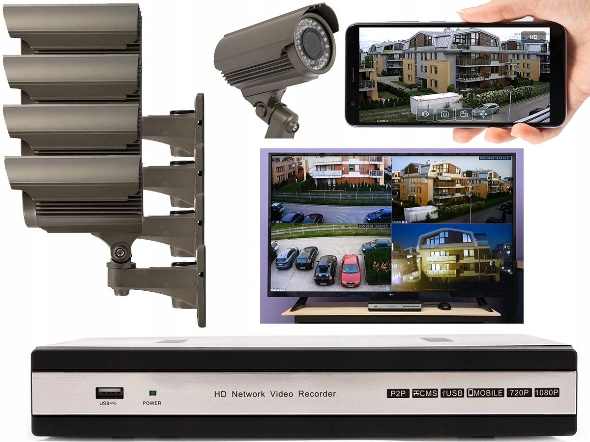 ZASILACZ CCTV 12V 5A MAX 4 KAMERY MONITORING Marka Inna