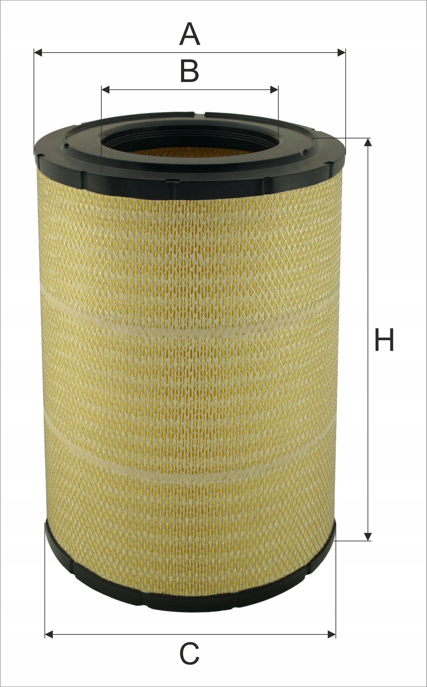 фильтр воздуха exmot wpo-407