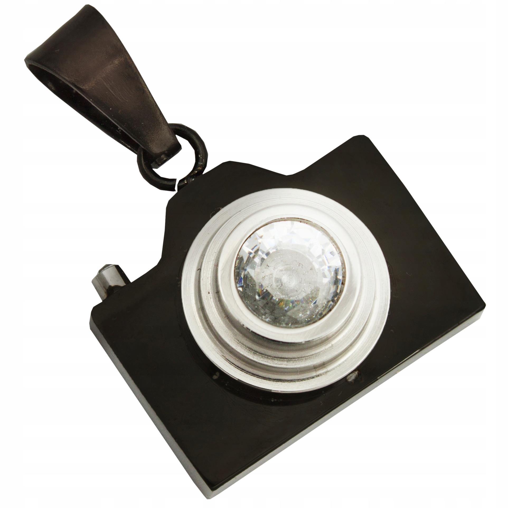 Zawieszka dla fotografa wisiorek lustrzanka czarny