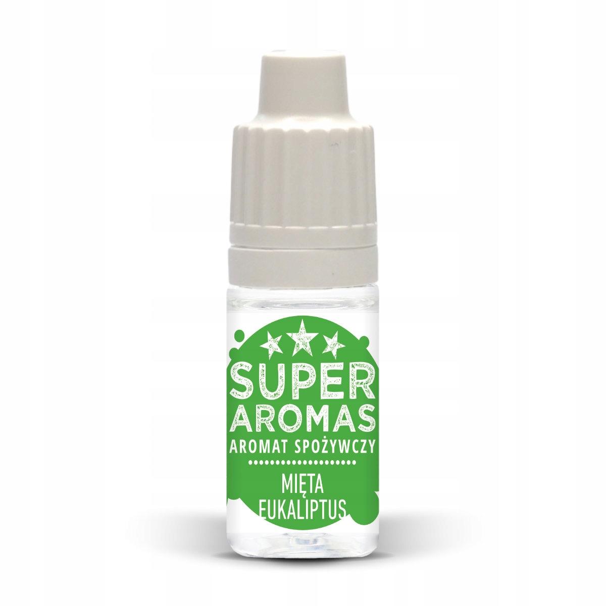 SUPER AROMAS aromat mięta eukaliptus 10 ml