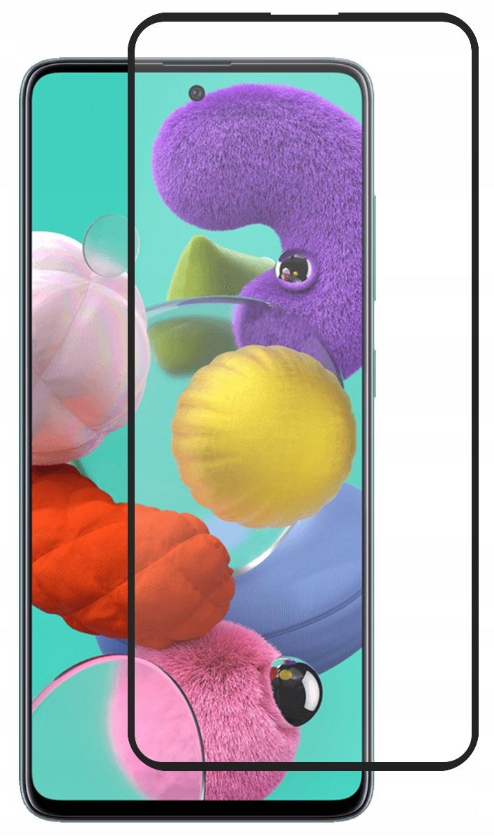 Szkło Hartowane Czarne do Samsung Galaxy A51