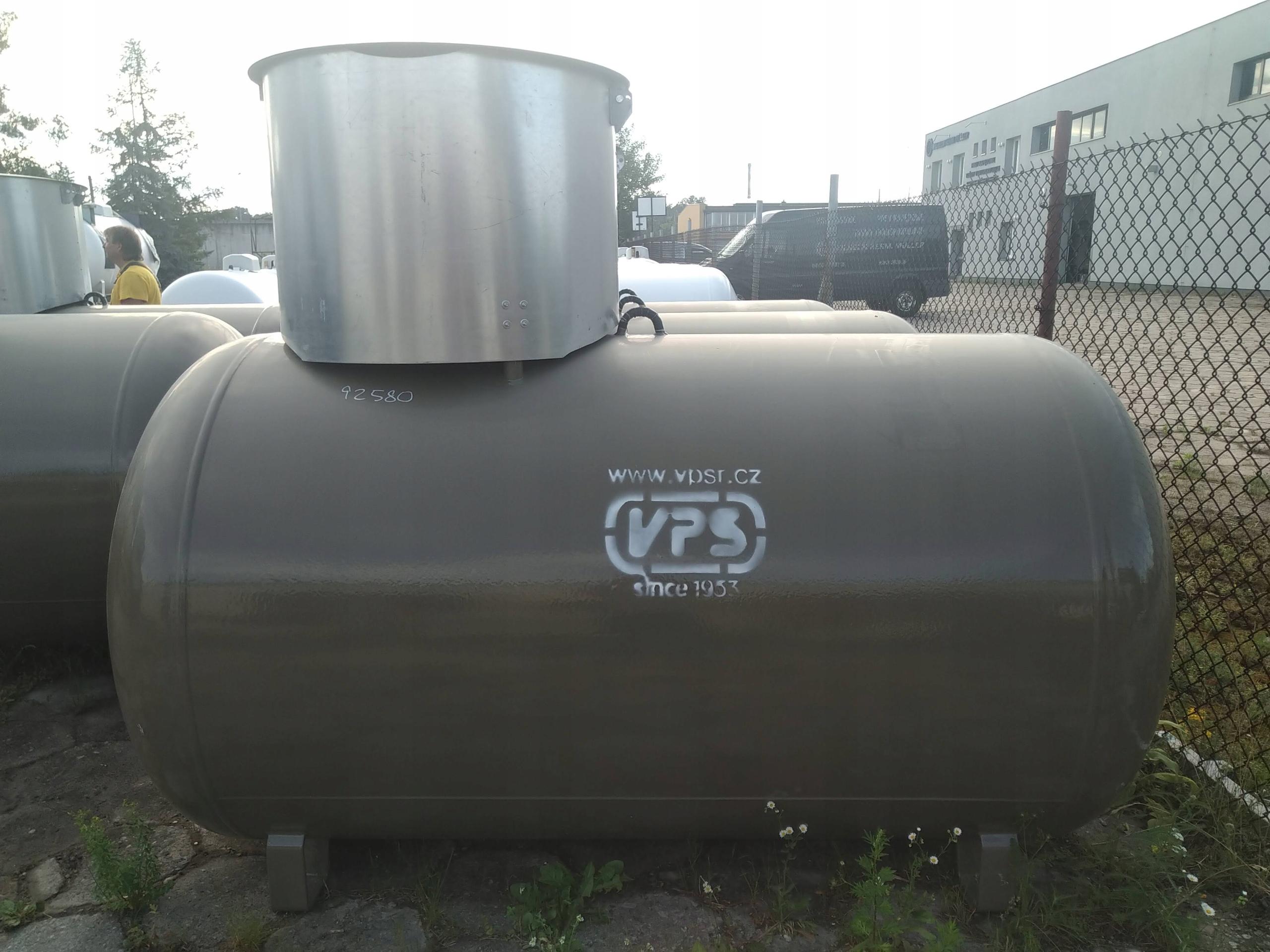 Zbiorniki Na Gaz Plynny Podziemne 2700l Propan Lpg 9504317671 Allegro Pl