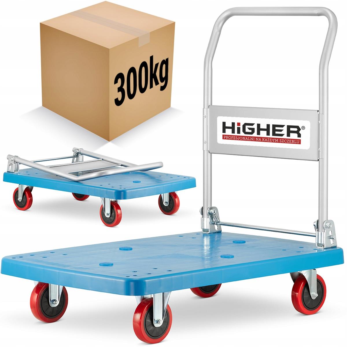 Wózek platformowy transportowy magazynowy 300kg