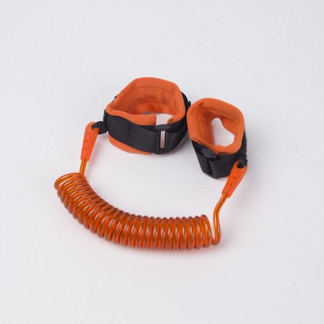 Bezpečnostné lano, detské vodítko na zápästie, 2 m