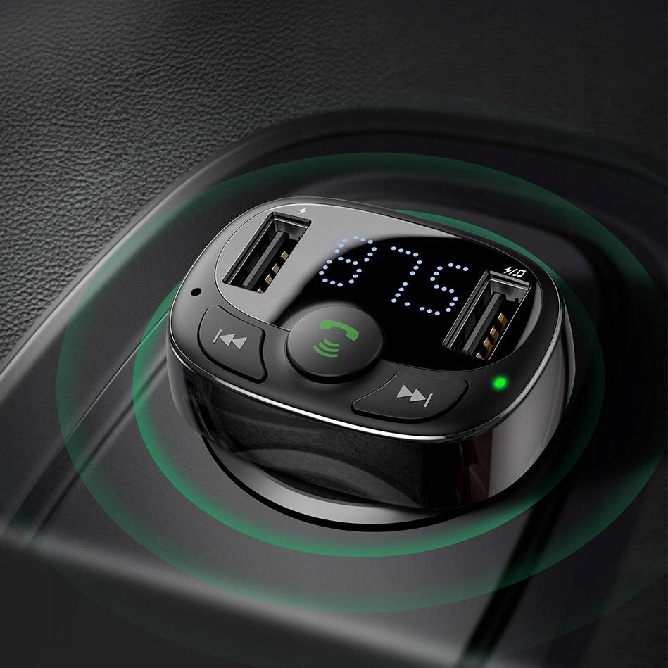 Baseus Bluetooth FM-sender MP3-lader 2xUSB EAN 6953156288287