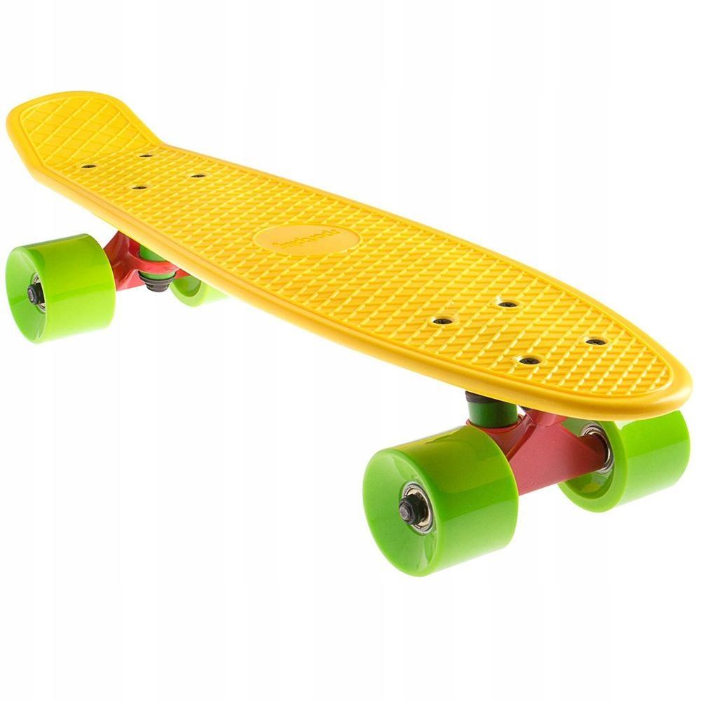 """Mini Retro """"žltý"""" skateboard SportPlus"""