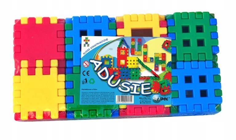 WAFFLES ADUSIE 90EL stavebné bloky pre deti