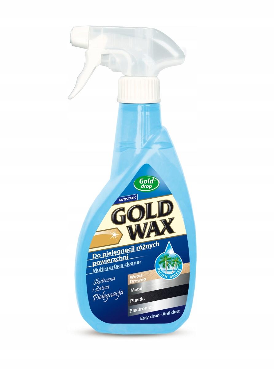 GOLD DROP GOLD WAX Preparat do pielęgnacji mebli