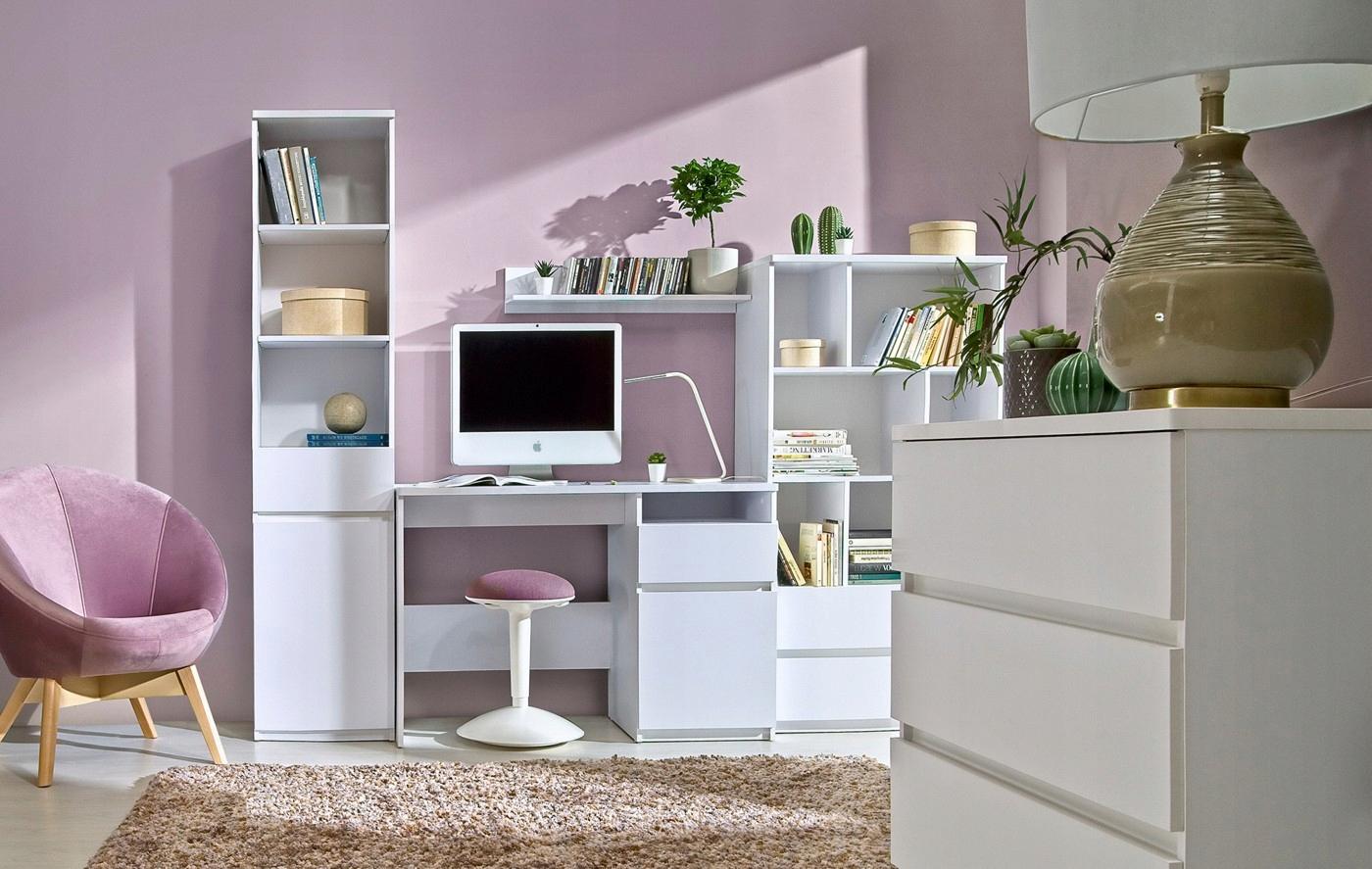 ARCA комплект молодежной мебели # 2 арктический белый