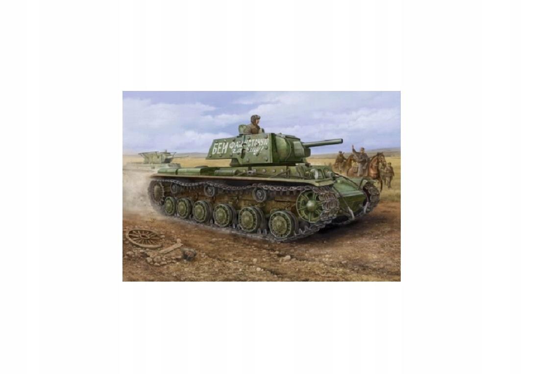 Rosyjski Czołg KV-1 model Hobby Boss 1:48