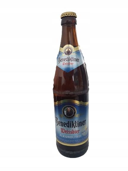 Купить Benediktiner Weissbier безалкогольное пиво <0,5% на Otpravka - цены и фото - доставка из Польши и стран Европы в Украину.