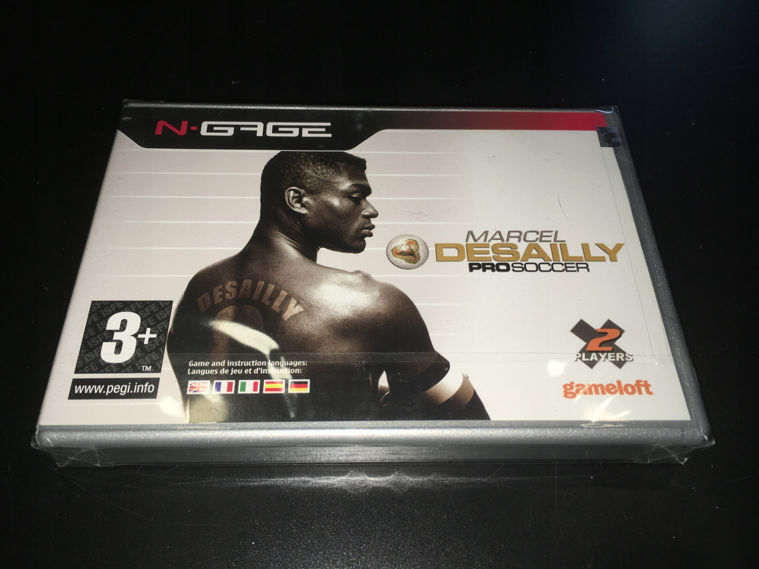 Marcel Desailly Pro Soccer / Nokia N-Gage