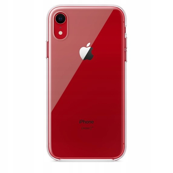 Apple Etui do iPhone Xr - przezroczyste