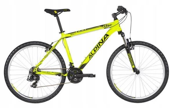 Alpina Eco M20 2019 Neon Lime XXS