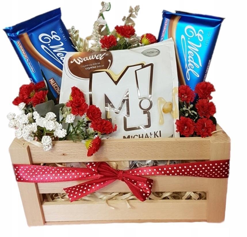 Подарочная корзина, юбилей, именины / день рождения, свадьба