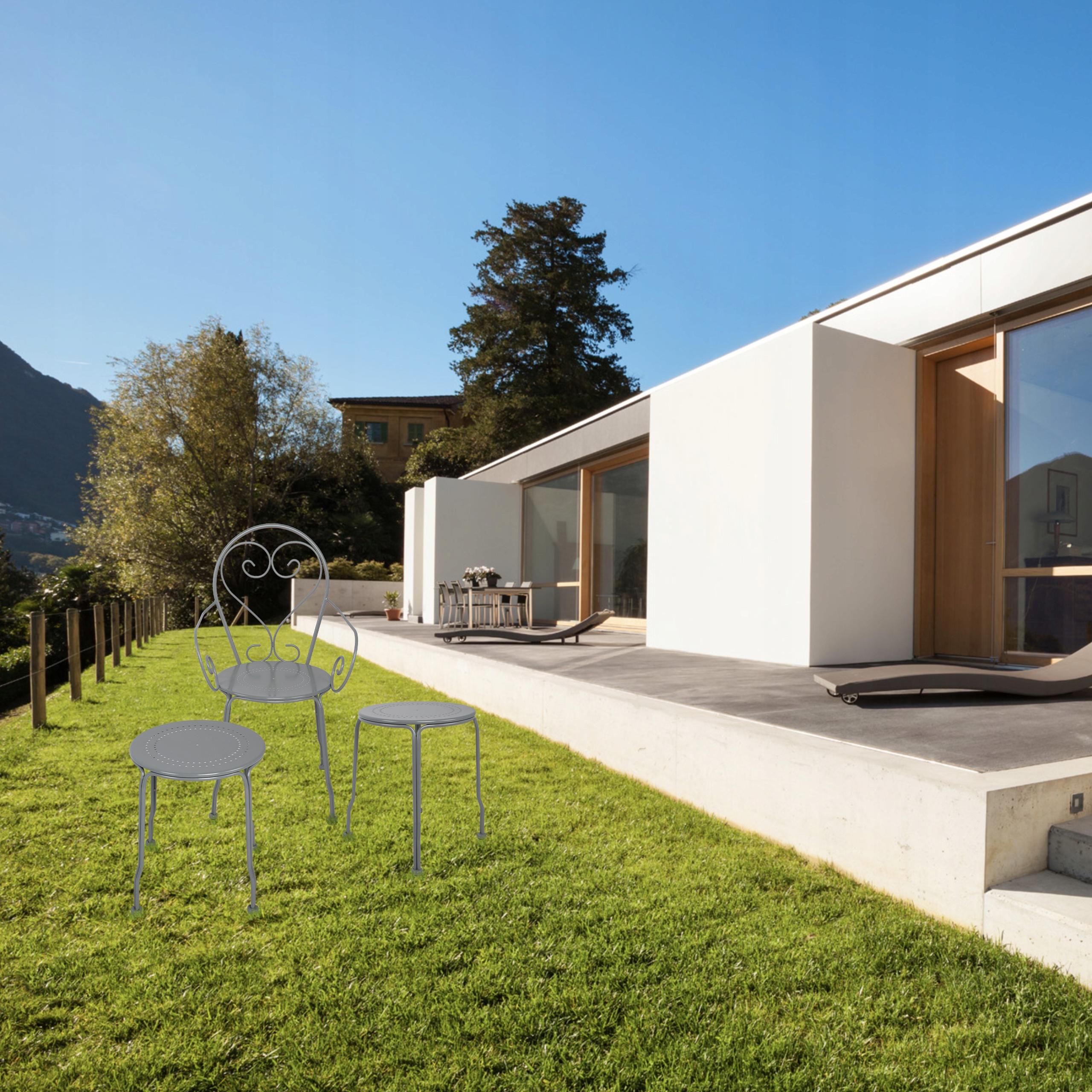 Sada kovového záhradného nábytku PATIO balkónová terasa Kód produktu H095702B