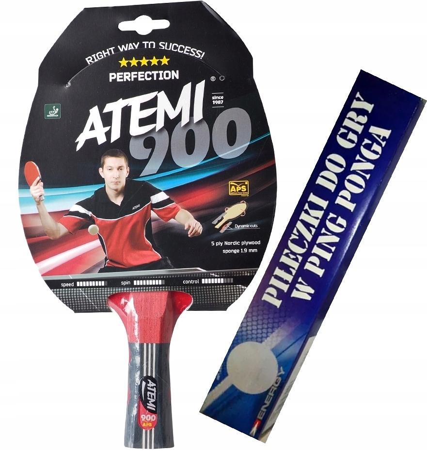 Ракетка для настольного тенниса ATEMI 900 + в подарок