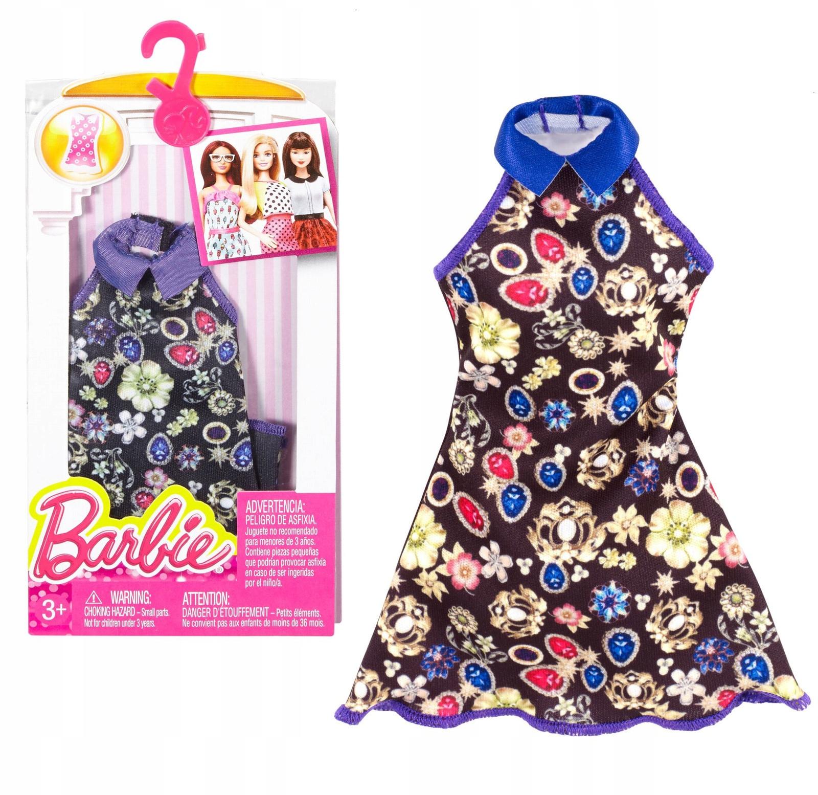 Barbie Fashionistas DPX71 Šaty