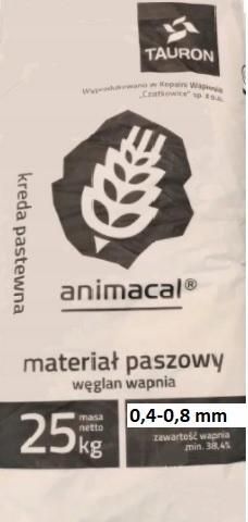 мел среднезернистый кормовой для кур 25 кг