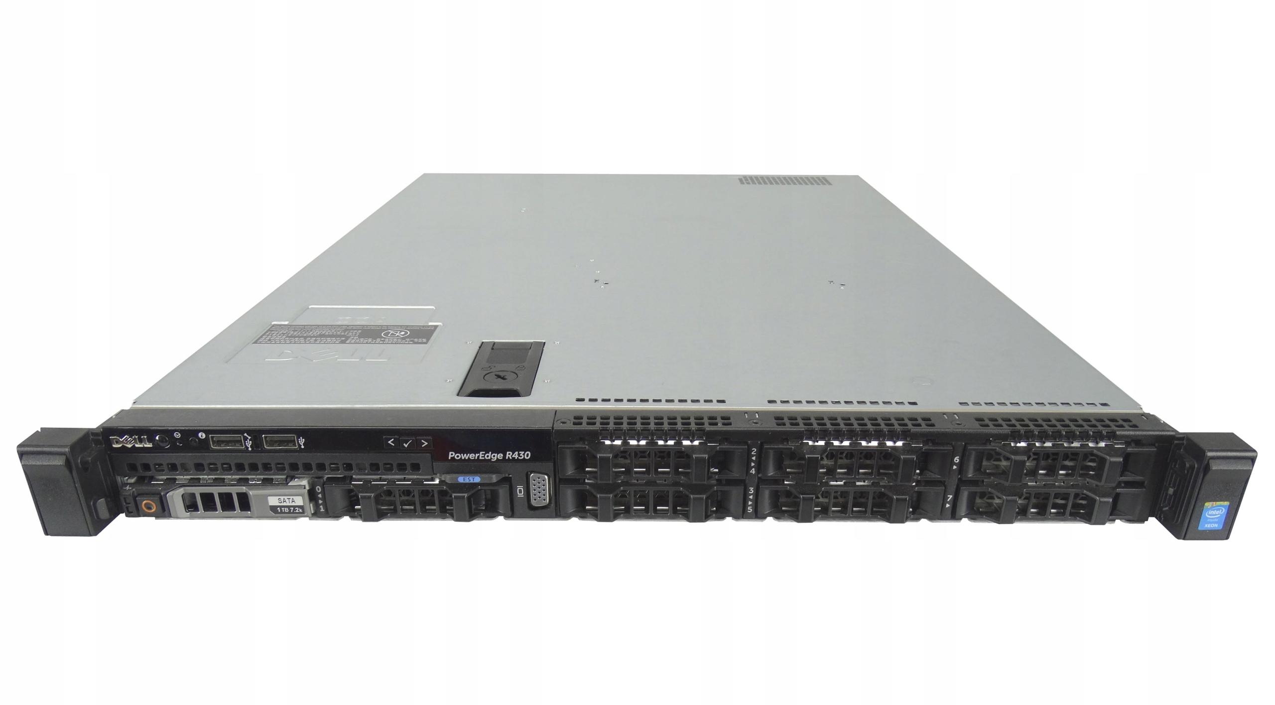 Купить Dell R430 8x2.5 E5-2623v4 64GB H730p 2x146GB 15K на Otpravka - цены и фото - доставка из Польши и стран Европы в Украину.