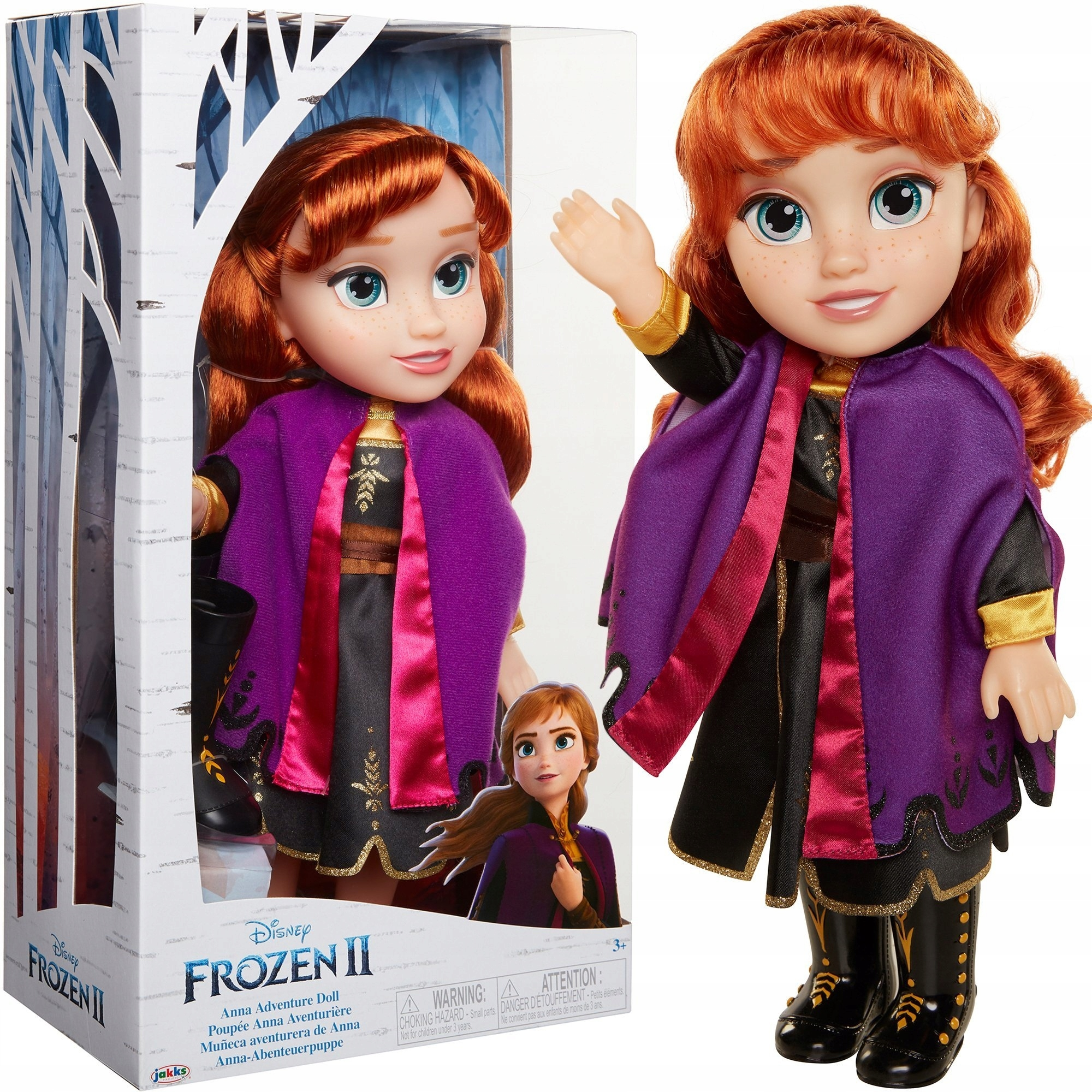 ICE LAND 2 FROZEN CLASSIC ANNA DOLL 32 CM