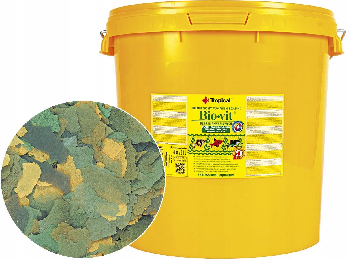 TROPICKÉ Bio-Vit 4 kg/21L Potravín