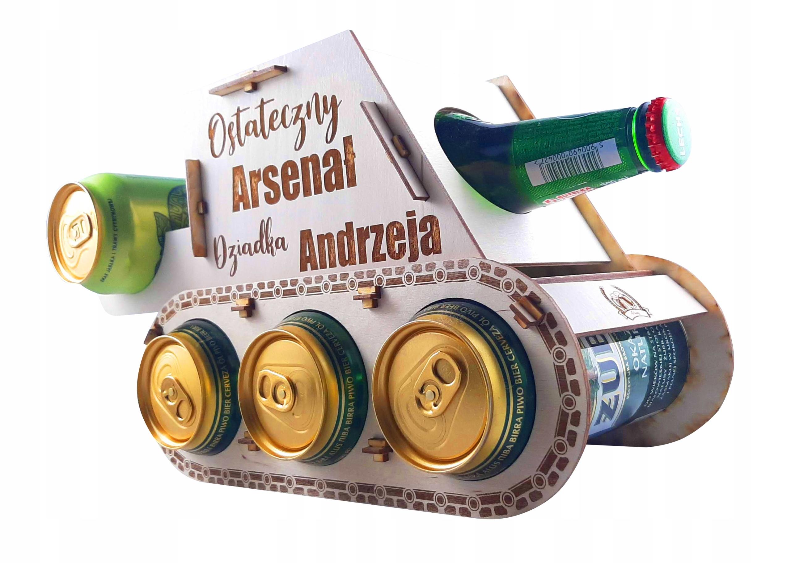Czołg na piwo prezent urodziny 18 dzień dziadka