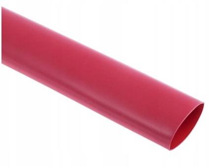 Трубка термоусадочная красная 1м 10