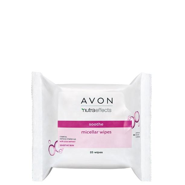 Avon Nutra Effects салфетки для снятия макияжа