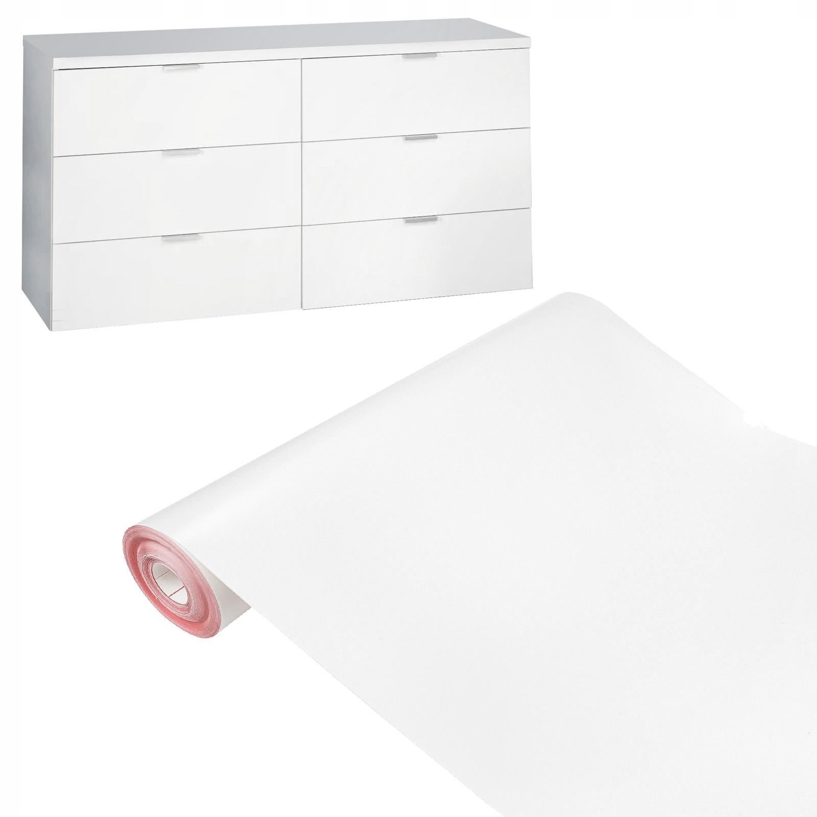 БЕЛЫЙ МАТОВЫЙ 45x50 F47 мебельный шпон пленка