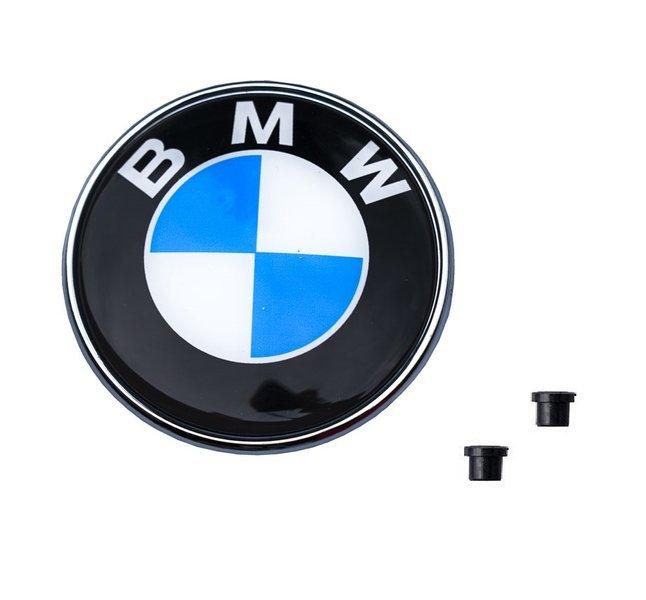 Значок на капоте 82mm BMW 3 E46 E90 E91 E91