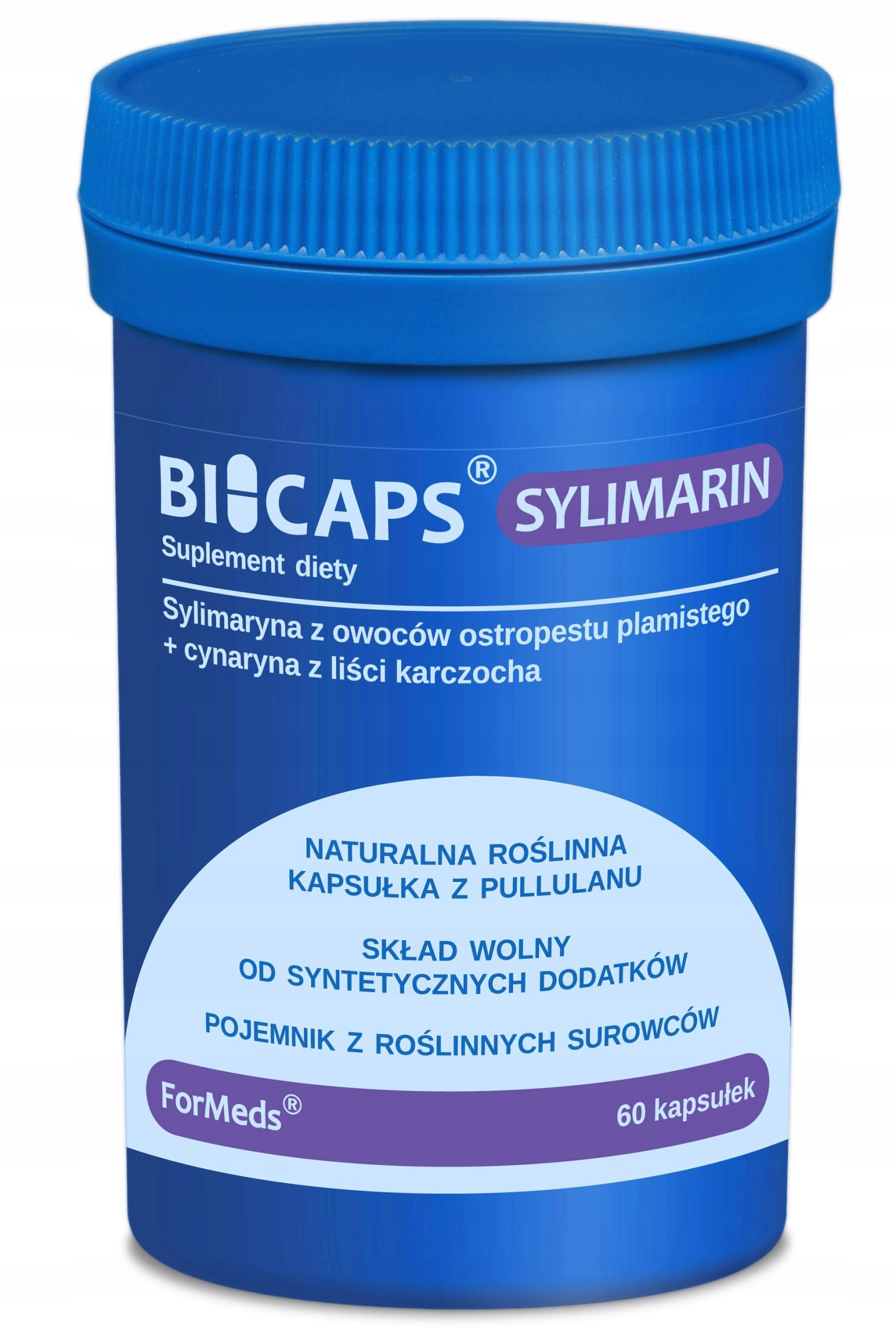 OSTROPEST KARCZOCH sylimaryna 80% ekstrakt FORMEDS