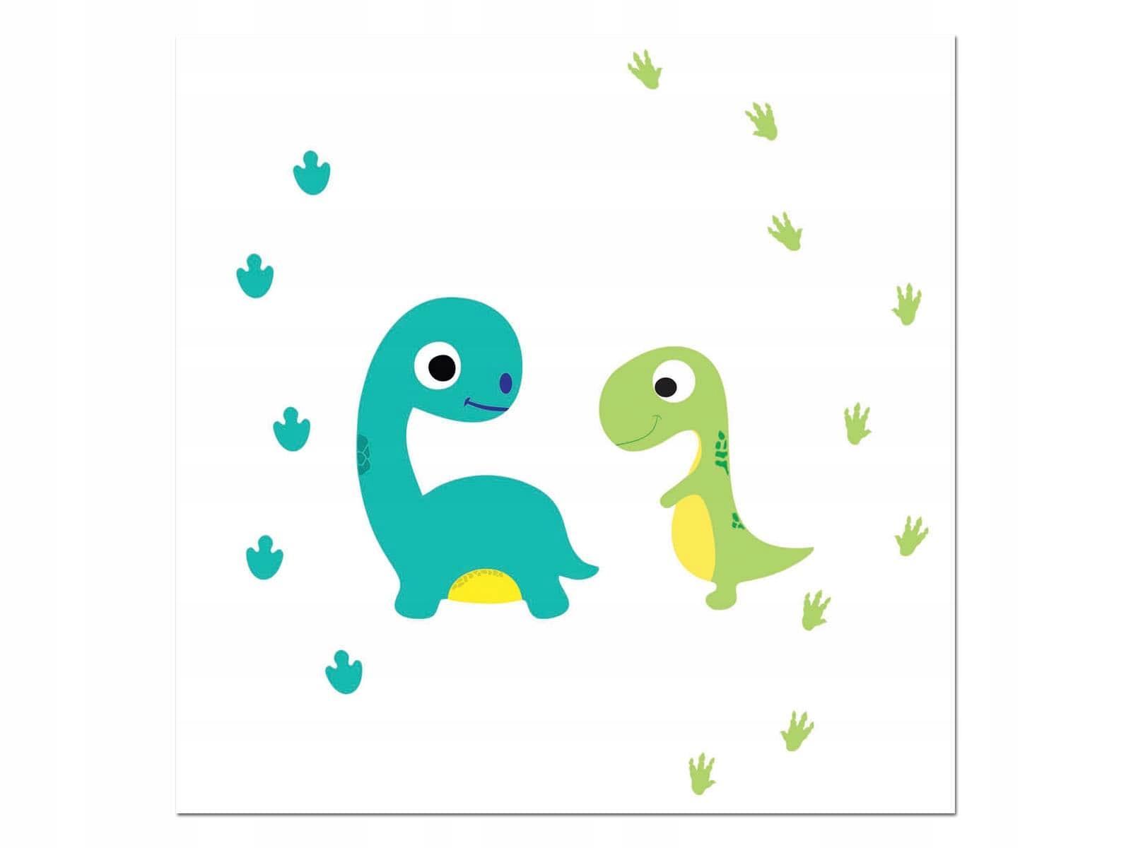 Serwetki urodzinowe Wesołe Dinozaury 33 cm 20 szt