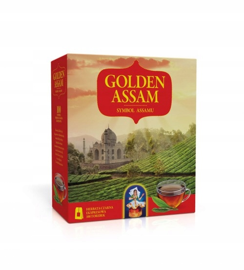 Чай черный в пакетиках Golden Assam 100т 200 г