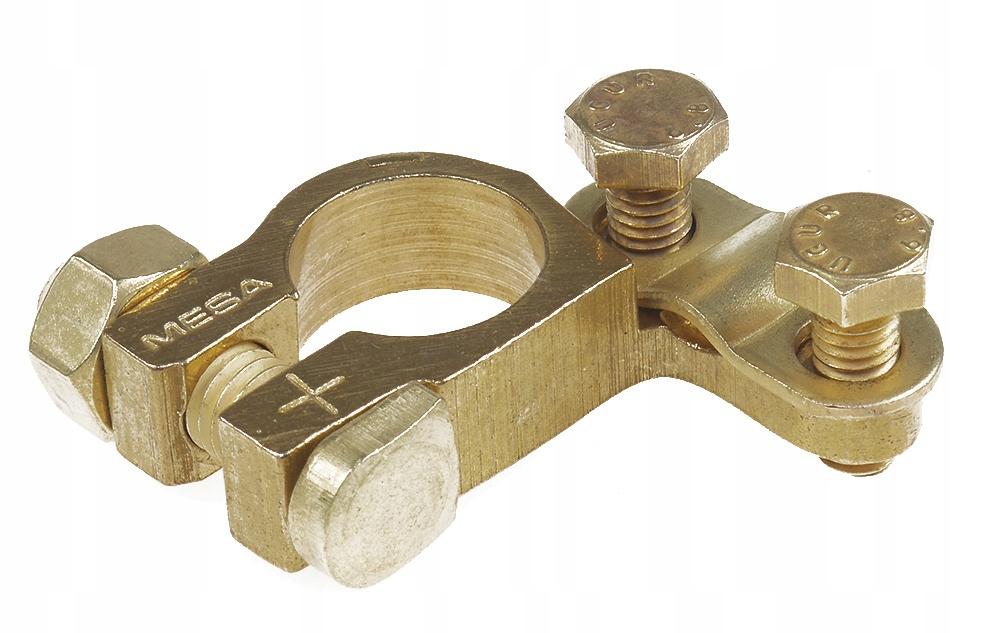клемма латунный 25-50 mm2 прочная зажим plusowa