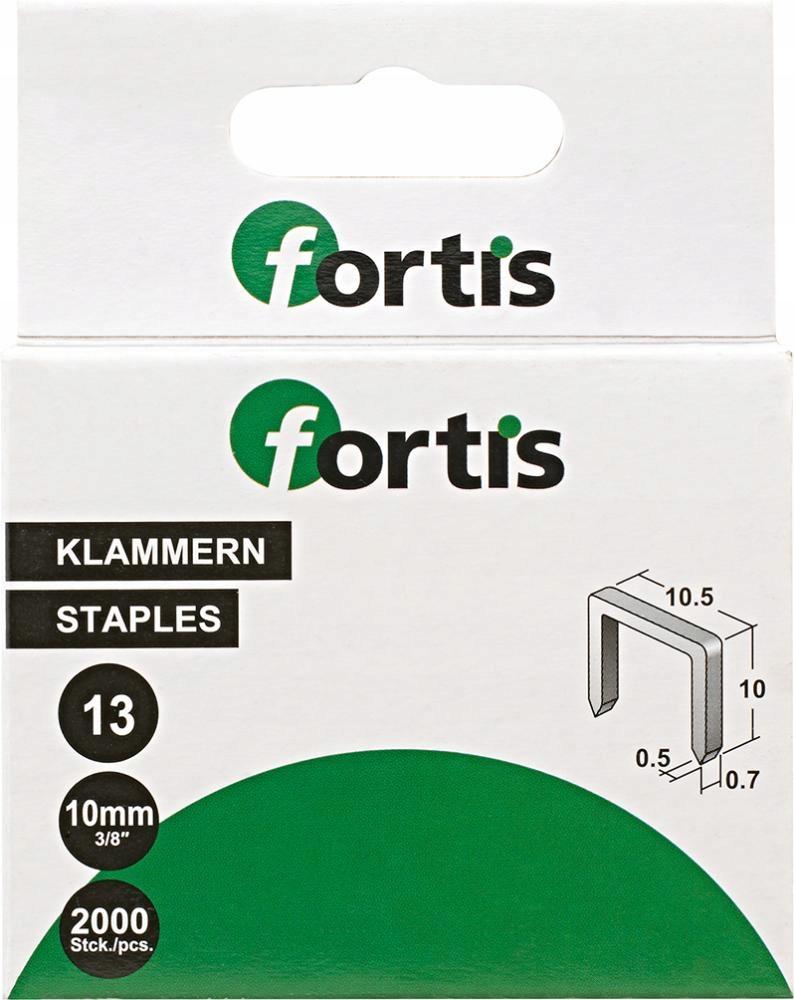 Скобы для молоткового степлера FORTIS 6мм 2000шт.