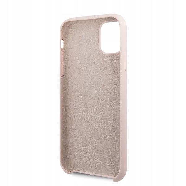 Etui Guess Silicone Case do iPhone 11 jasnoróżowy Producent Braders