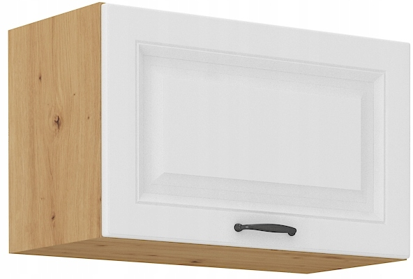 kuchynská odkvapová skrinka 60 cm remeselník + biela RETRO